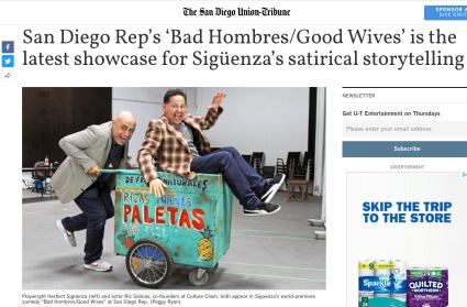 Herbert Siguenza & Ric Salinas at San Diego REP